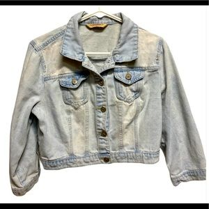 Highway jeans cropped Jean jacket